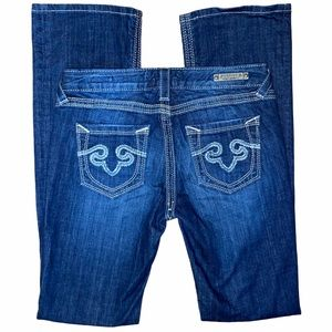 Re Rock for Express Barely Bootcut Jeans 6R